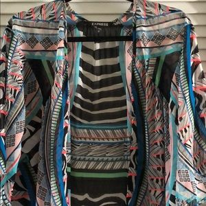 Express extra-long Tribal Tunic